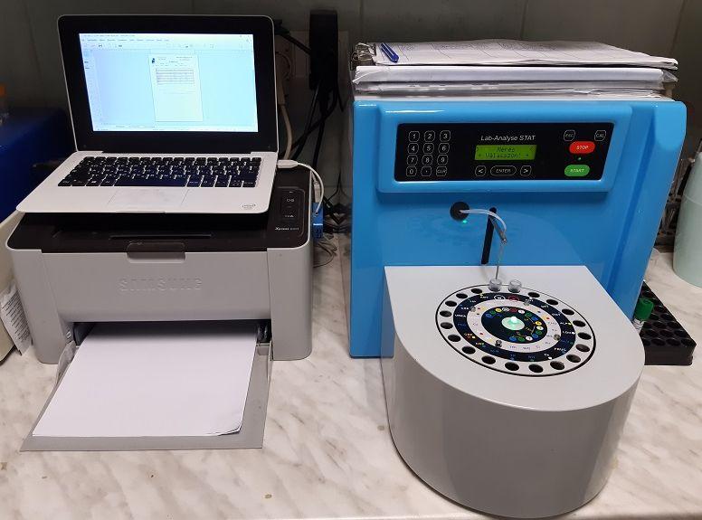biokémiai laborautomata