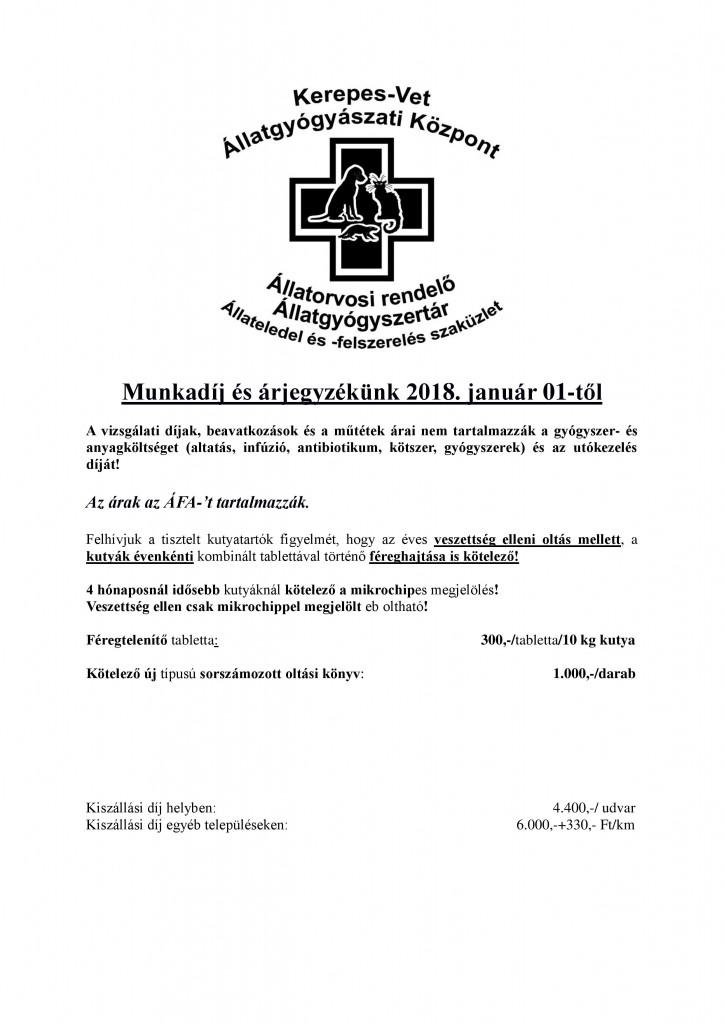Munkadíj árjegyzék KerepesVet 2018. 01. 01-page-001