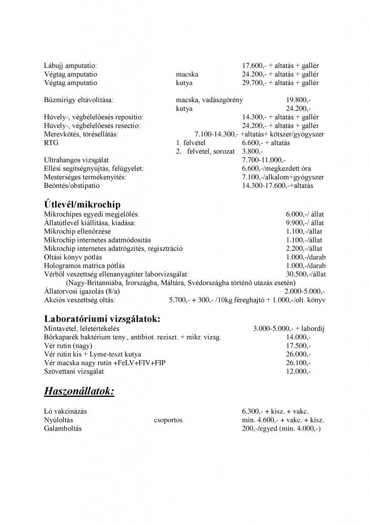 Munkadíj árjegyzék KerepesVet 2018. 01. 01-page-005