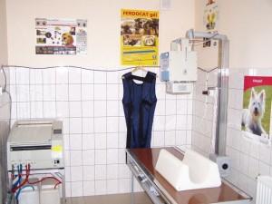 a röntgen- és UH szoba