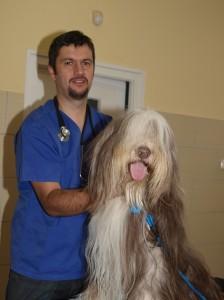 dr.Hadházy Ákos és egyik kedvenc páciense