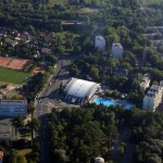 sportcsarnok a sportuszodával és a Szegedi Biológiai Központ